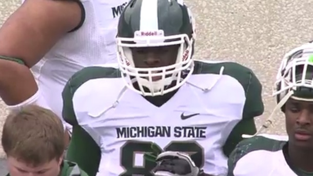draymond green played football at michigan state