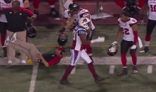 Cris Carter's Son Scores TD in CFL, Celebrates By Knocking Down Opposing Coach (Video)