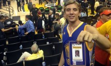 See How This Warriors Fan Made a Fake Credential & Got Into Game 7