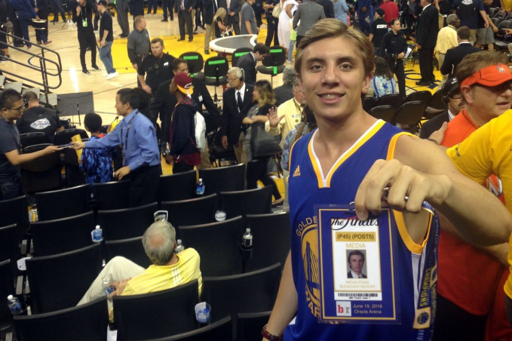 Total Pro Sports See How This Warriors Fan Made a Fake Credential & Got Into Game 7