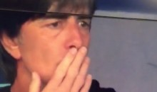 Germany Coach Joachim Löw Caught Sniffing His Armpits at Euro 2016 (Video)