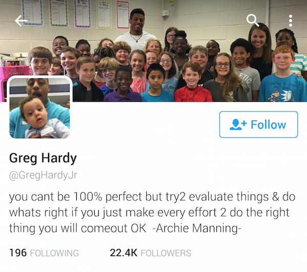 greg hardy twitter