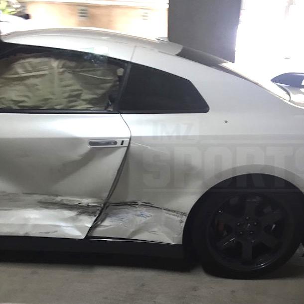 johnny manziel car wreck  photo 1