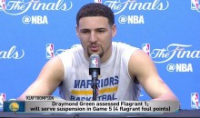 Klay Thompson On LeBron: 'This is a Man's League, I Guess His Feelings Got Hurt' (Video)