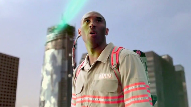 kobe bryant ghostbusters ad