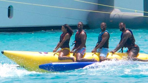 lebron d-wade chris paul banana boat