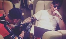 Johnny Manziel Posts Ridiculous Instagram Pic of Himself Getting Tattoo on Private Plane