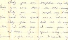 Adorable Love Poem Michael Jordan Wrote for Grade School Crush to Be Auctioned Off Next Week (Pic)