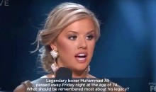 Miss Alabama Was Asked About Muhammad Ali's Legacy at 2016 Miss USA Pageant, and Her Answer Was Terrible (Video)