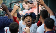 Red Sox Leadoff Hitter Mookie Betts Makes History with Five Homers in Seven At-Bats Over Two Games (Video)
