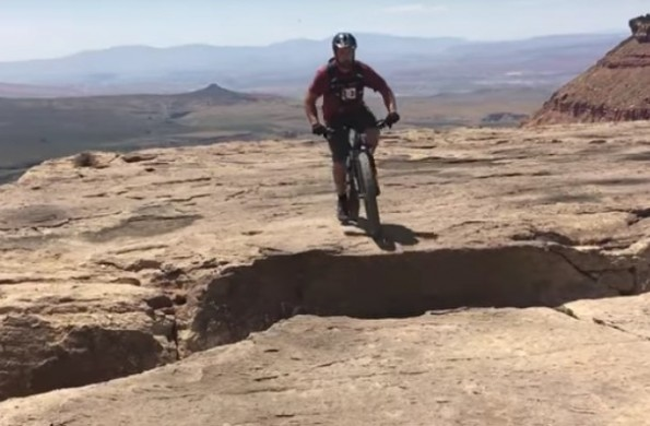 mountain bike wheelie
