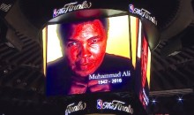 Watch: NBA Finals Muhammad Ali Tribute Prior to Warriors-Cavs Game 2 (Video)