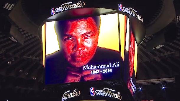 nba finals muhammad ali tribute