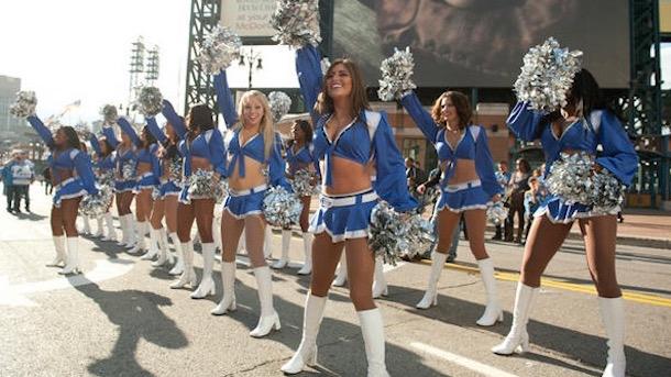 official detroit lions cheerleaders