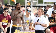 President Obama Tells Tyronn Lue to Make J.R. Smith Put on a Damn Shirt (Video)