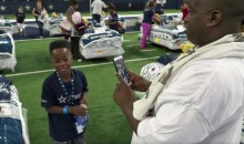 Dallas Cowboys Host a Giant Sleepover for Underprivileged Kids without Beds