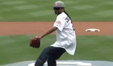 Snoop Dogg First Pitch: Not as Bad as 50 Cent, Still Pretty Bad (Video)