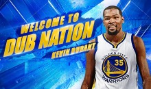 Warriors Make it Official, Signing Kevin Durant To a 2-year $54.3M Deal