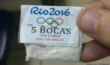 Rio Drug Dealers are Selling Cocaine in Olympic Baggies