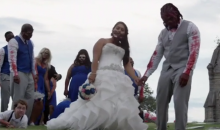 DeAngelo Williams had a 'Walking Dead' Themed Wedding (Video)