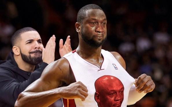 Dwyane Wade Bulls Crying Jordan