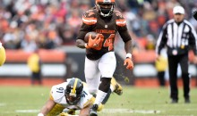 Cleveland Browns RB Isaiah Crowell Apologizes For Sharing Photo of Cop Getting His Throat Slashed