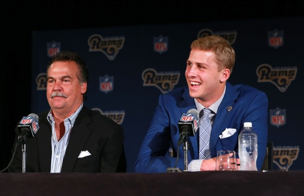 Los Angeles Rams Introduce Jared Goff