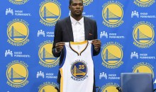 Kevin Durant's Warriors Jersey is The Best Selling Jersey in 30 States