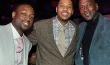 "Carmelo Anthony on Jordan Finally Speaking on Social Issues: ""..It's About Time"""