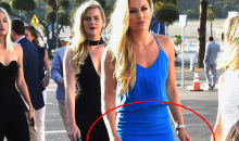 Lindsey Vonn Suffers REVEALING Wardrobe Malfunction at Dodgers Gala (PICS)