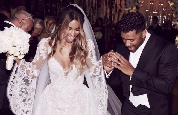 Russell Wilson Ciara wedding