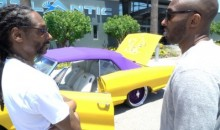 Snoop Dogg Gave Kobe a Completely Insane Custom Car as a Retirement Gift (Pics)