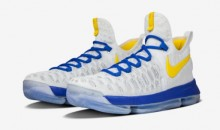 Check Out Durant's Nike KD9s in the Golden State Warriors Colors