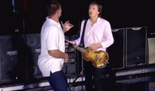 Gronk Got on Stage with Paul McCartney at Fenway Park to Rock Out to 'Helter Skelter' (Video)