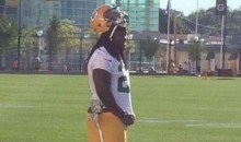 Eddie Lacy Reports to Training Camp Lookin' Pretty Thin (Pic)