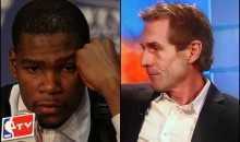 Report: Kevin Durant Was Upset By A Skip Bayless Tweet During The Playoffs