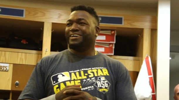 big papi david ortiz all-star game farewell speech