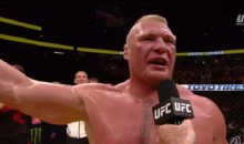 Brock Lesnar Called For Racial Unity In America After UFC 200 Victory (Video)