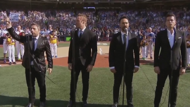 canadian tenors singer changes lyrics canadian anthem mlb all-star game all lives matter