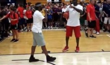 Chris Paul Challenges Jordan At Basketball Camp (Video)