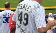 White Sox Fan Doctors Chris Sale Jersey to Honor Sale's Epic Jersey Cutting Tantrum (Pic)