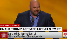 UFC President Dana White Praises Donald Trump For Believing in UFC (Video)