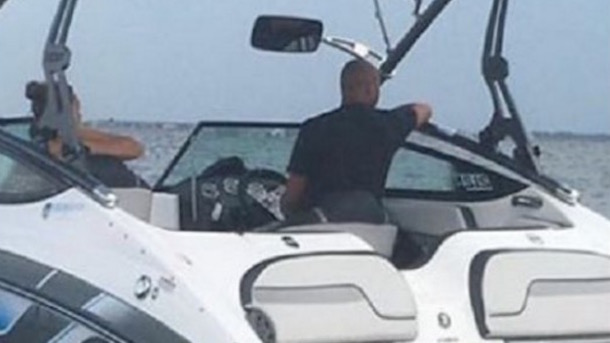 derek jeter got a boating ticket on the fourth of july