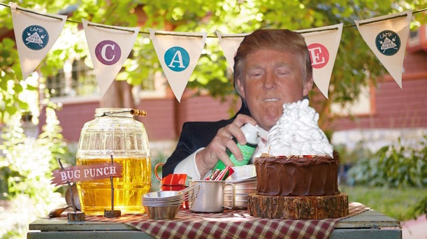 donald trump vince mcmahon photoshops (photo of donald trump shaving vince mcmahon's head sparks photoshop battle) 11