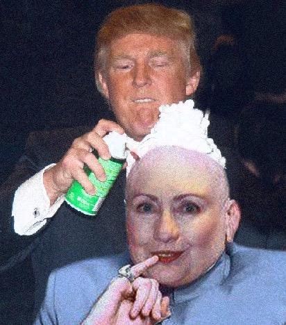 donald trump vince mcmahon photoshops (photo of donald trump shaving vince mcmahon's head sparks photoshop battle) 15
