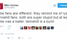 Brent Grimes' Wife, Miko Continues To Rant About The Dolphins & Tannehill