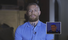 Conor McGregor Sends a Message to Nate Diaz, Saying He Got Lucky Last Time They Fought (Video)