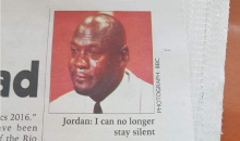 Malawian Newspaper Uses 'Crying Jordan' For MJ Story