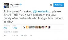 Fox Sports' Jay Glazer Wants Brent Grimes Wife, Miko to STFU