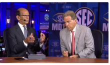 Nick Saban's Verbal Spat With Paul Finebaum On And Off Air (Video)